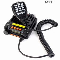 vhf uhf QYT מקורי KT-8900 VHF 136-174MHZ UHF 400-480MHZ נייד לרכב CB רדיו משדר עם תכנות כבל ותוכנה (2)