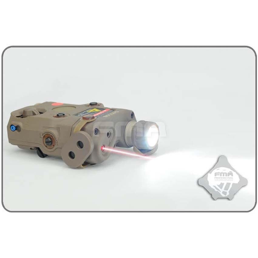FMA nouvelle Version de mise à niveau de AN-PEQ-15 LED lumière blanche + laser rouge avec lentilles IR accessoires de casque militaire tactique livraison gratuite