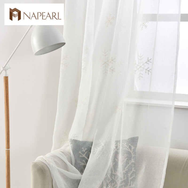 Cortina de tul ventana de invierno moderno cortinas cocina chica
