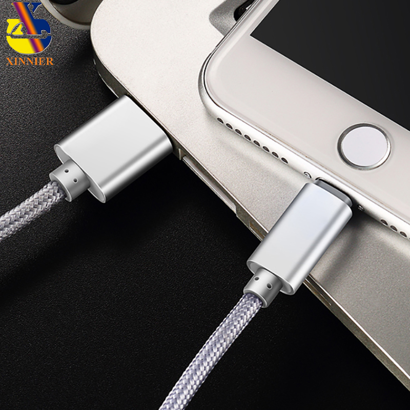 USB Charger Cable for iPhone X 7 6 5 6s Plus Fast Charging USB Data Cable for iPhone 5s 5C SE Mobile Phone Nylon Cable