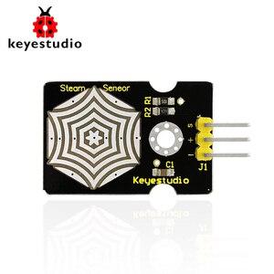 Keyestudio módulo de sensor de vapor para arduino, detector de chuva sensor de umidade líquido sensor para arduino