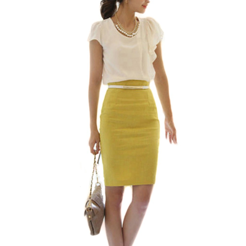 Popular Fitted Pencil Skirts-Buy Cheap Fitted Pencil Skirts lots ...