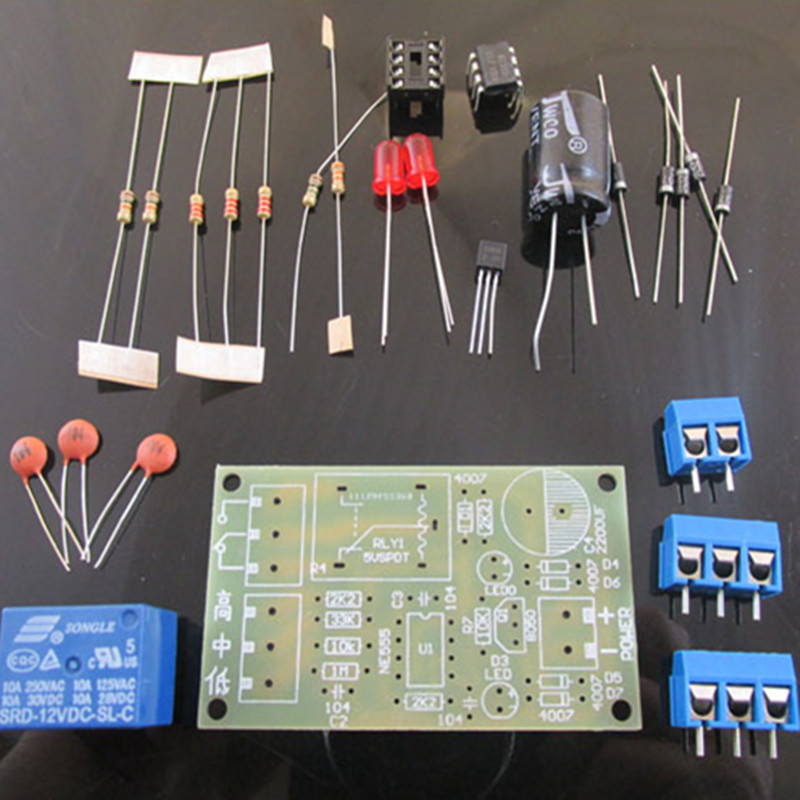 DIY Water Level Switch Sensor Controller Detector Water Tank Automatic Pumping Electronic Production KIT Suite Trousse Board
