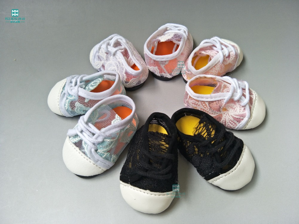 One Pair Fashion Doll Sneakers Baby Shoes For Doll Fit 45cm American Doll And New Born Doll Accessories