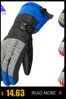 VECTOR Brand Ski Goggles Men Women Double Lens UV400 Anti-fog Snowboard Skiing Glasses Big Mask Snow Eyewear 11