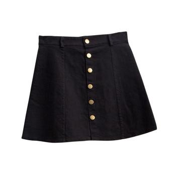 Denim Skirt YEL 4