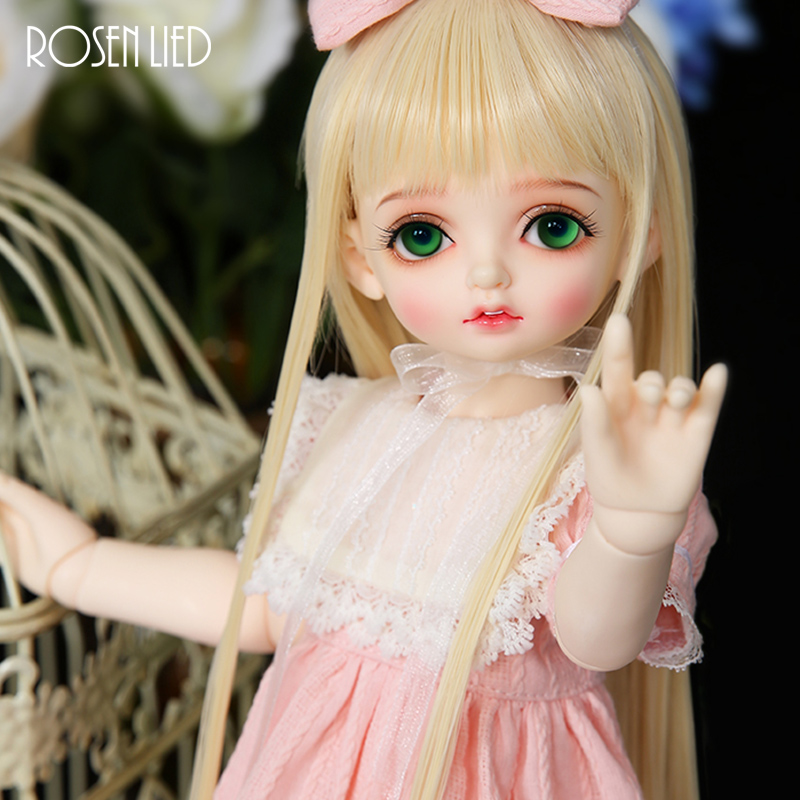 цены Rosenlied RL BJD doll Bambi bjd sd 1/4 body model girls High-quality resin dolls oueneifs Cute doll