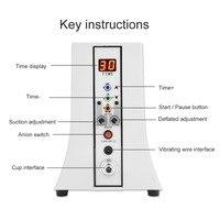 35 чашки обновлен вакуумный насос увеличивание груди Enhancer вакуумная терапия массажер для тела ЕС Plug