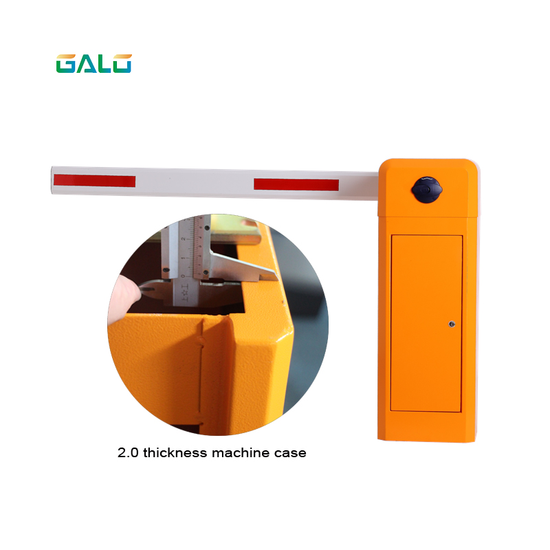 DZ-115 Series Intelligent Barrier Gate Boom Gate With 2.00mm Cold-roll Sheet Housing
