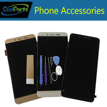 Лучшие 1PC/Lot For Prestigio Grace Z3 PSP3533DUO PSP3533 DUO LCD Display Screen+Touch Screen Digitizer +Tool Black White Gold Color