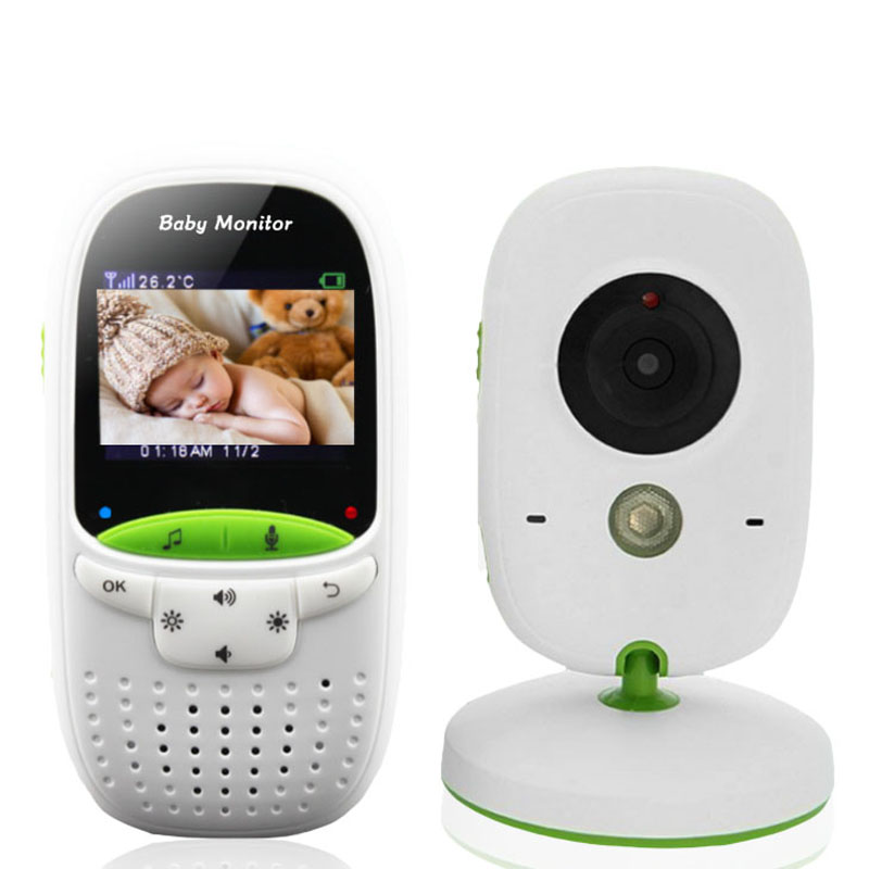 VB602 2.4G Wireless Baby Monitor 2 Inch Electronic Babysitter Nanny Security Camera Two-way Audio Night Vision Temperature Monit