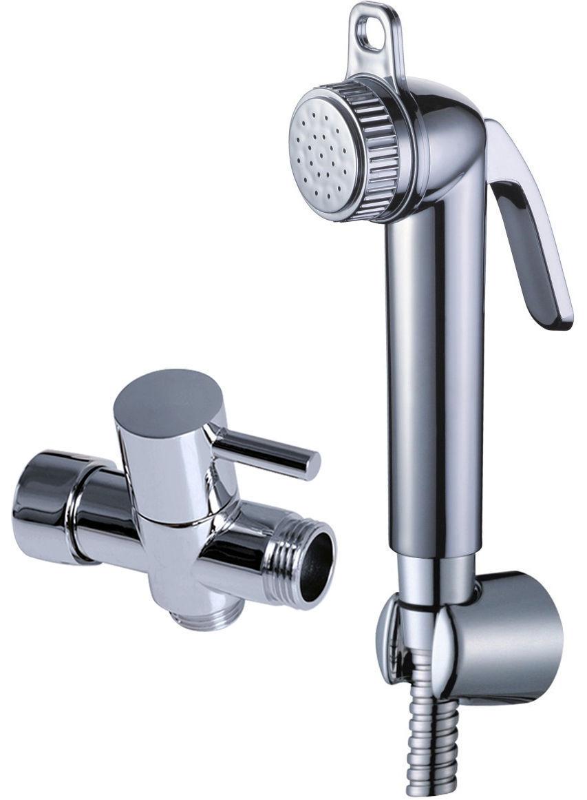 Toilette salle de bains ABS poche pulvérisateur à couches ensemble de Douche Shattaf Bidet pulvérisateur kit de Douche + 7/8