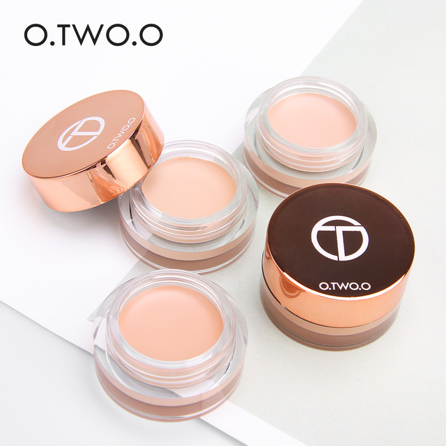 O.TWO.O Eye Primer Concealer Cream Makeup Base Long Lasting Concealer Easy to Wear Cream Moisturizer Oil Control Brighten Skin 2