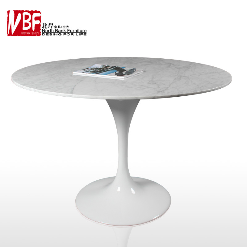 North Shore NBF Saarinen Tulip Marble Design Guru Square / Round Table  Minimalist Modern Rice Taiwan In Dining Tables From Furniture On  Aliexpress.com ...