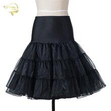 14 доступны цвета короткая юбка пачка кринолин Винтаж Свадебные для коктейльные платья Нижняя юбка в стиле рокабилли