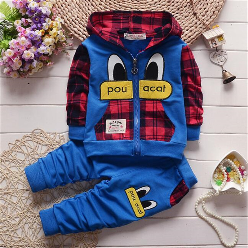 Clearance processing baby boy clothing set spring autumn