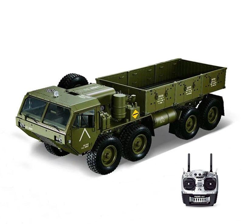 1/12 RC Militär Lkw Metall 8*8 Chasis Modell Radio Servo Motor Mit LED Sounds System Set TH05144-in RC-Autos aus Spielzeug und Hobbys bei  Gruppe 3