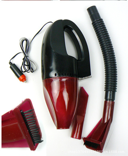 Free shipping 12V 60W Portable Car Vacuum Cleaner Wet And Dry Dual-use Super Suction Tile Vacuum Cleaner