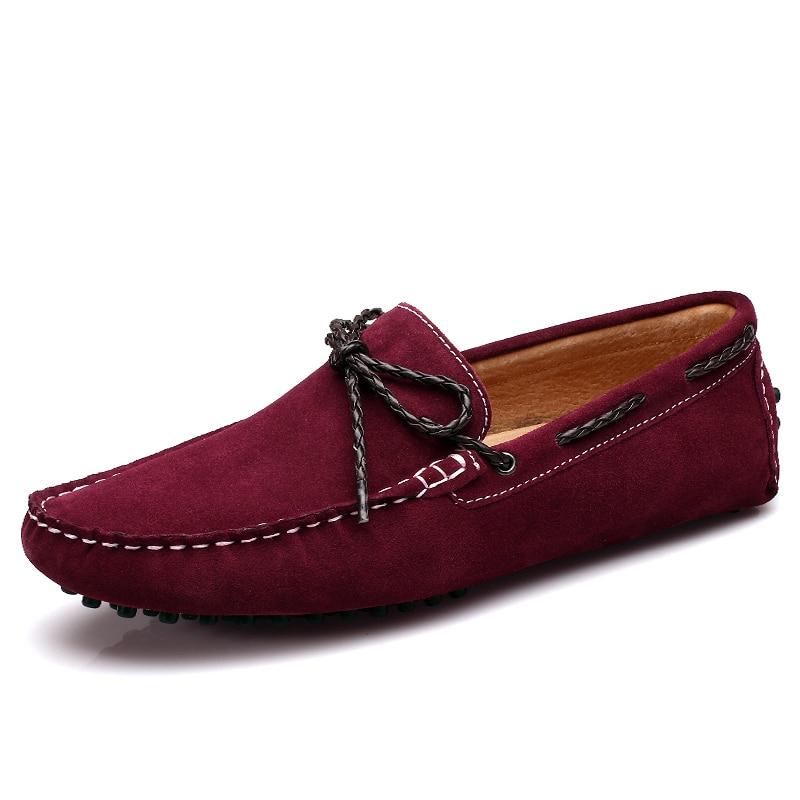Casuales De Para Mocasines Verano Hombre Cuero Zapatos qqtn1Rf