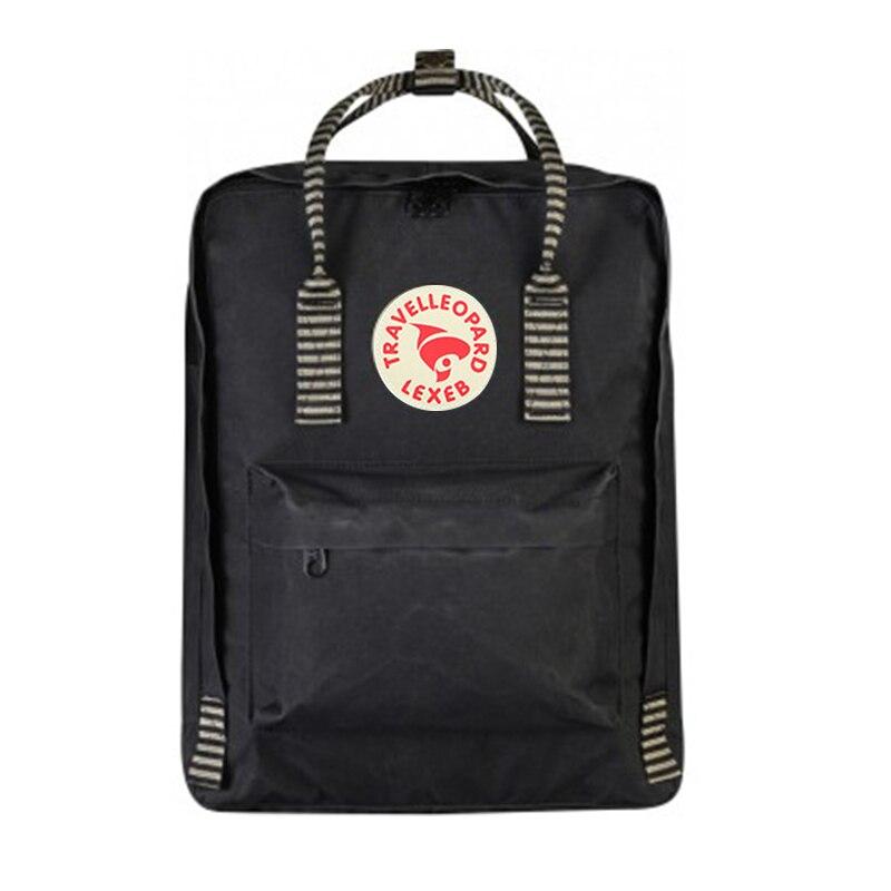 TRAVEL LEOPARD Kanken Art 23510A Backpack School Kanken School Bags For Teenage Girls Kanken Backpack Women