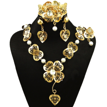 hot deal buy  fine jewelry sets famous brand jewelry big jewelry sets gold  women necklace african beads jewelry set pearl jewelry set