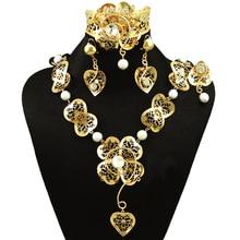 fine jewelry sets famous brand jewelry big jewelry sets gold  women necklace african beads jewelry set pearl jewelry set