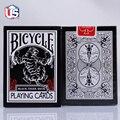 Uv500 tigre negro TCC cubierta negro tigres rojo pipa segunda edición Ohio bicicleta cubiertas magia magia trucos de magia Poker Cards