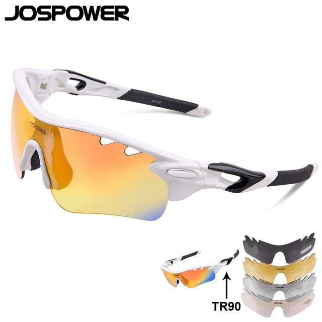 JOSPOWER  Cycling Glasses Driving Sunglasses TR90 Ultralight Bike Glasses Anti-uv Polarized Sport  Eyewear Las gafas Ciclismo