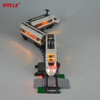 MTELE Brand New Arrival Led Light Kit For Trains High-speed Passenger Model Lighting Set Compatible With Model 60051 - SALE ITEM Toys & Hobbies