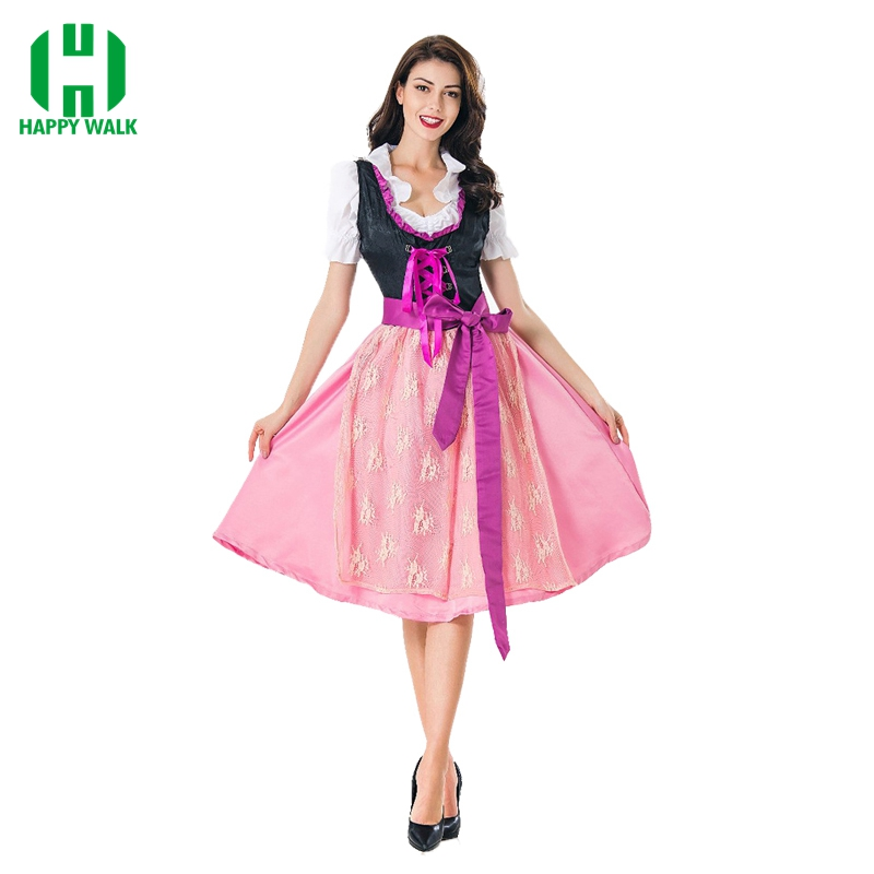 Hot sales!!!Maid Cosplay costume for German Bavarian Oktoberfest clothing Munich traditional ethnic carnival costume