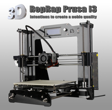 impresora 3d Reprap Prusa i3 DIY 3d Printer kit with 1 Roll Filament 8GB SD card+LCD as gifts