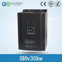 VFD В 380 V 30KW Векторный Преобразователь частоты тройной (3) фазы высокой эффективности
