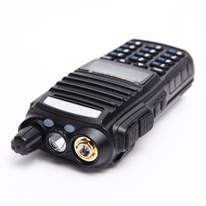Image 5 - Baofeng UV 82 walkie talkie 10 km dual PTT a due vie wireless dual band tenuto in mano portatile UV 82 ricetrasmettitore