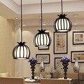 Кованые обеденные люстры  модная Столовая гостиная свет сладкий спальня исследование сцена droplight