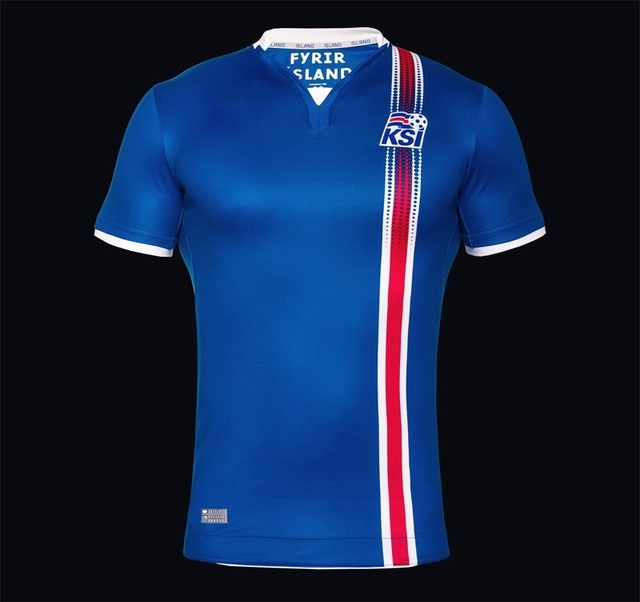 NEW 2016 2017 ICELAND EUROPE CUP SOCCER JERSEY BLUE 2016 IRELAND HOME KITS  WHITE 2016 ICELAND 762d3312a