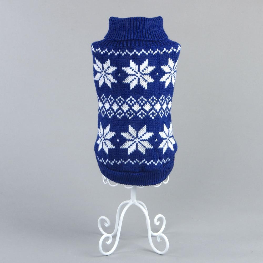 Envío libre del perro de la navidad ropa para mascotas suéter al por ...
