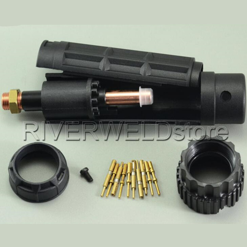 FY0023 Male Central Adaptor Original For Trafimet S45 S75 S105 A51 A81 A101 A141 A151 CB50 CB70 CB100 CB150 Plasma Torch oem trafimet style plasma torch straight a141 torch head air cooled for cnc plasma cutting machine central connector