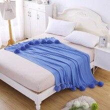 Warm Flannel Blanket Coral Plaid For sofa air Throw Travel Manta Soft Beds Throws Fleece