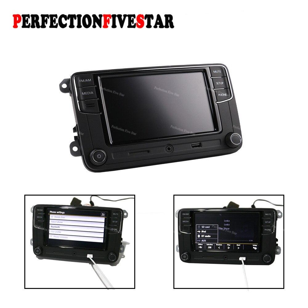 все цены на 6RD035187A 6.5' RCD330 Plus MIB Radio USB AUX Bluetooth RCD510 RCN210 For VW Polo Golf 5 6 Passat B6 B7 CC Tiguan Jetta MK5 MK6 онлайн