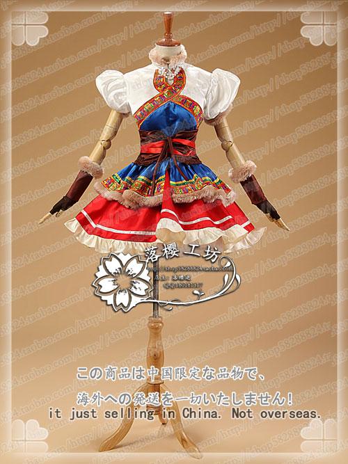 LoveLive Dec.Snow Mountain Awaken Christmas Dress Uniform Rin Nico Eli Nozomi Umi Halloween Cosplay Costume Outfit Custom-made