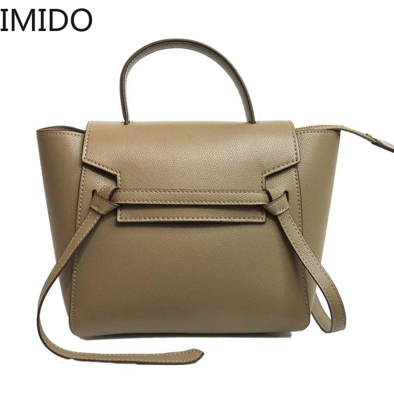 IMIDO Classic Leather Handbag Women Luxury Brand Designed Hot Big Tote Crossbody Shoulder Bag PU Leather Casual Designer Luxury