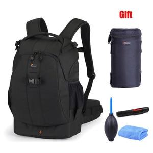 Image 1 - Lowepro Flipside 400 AW gift 9x21cm lens case Cleaning kit Digital SLR Camera Photo Bag Backpacks  ALL Weather Cover