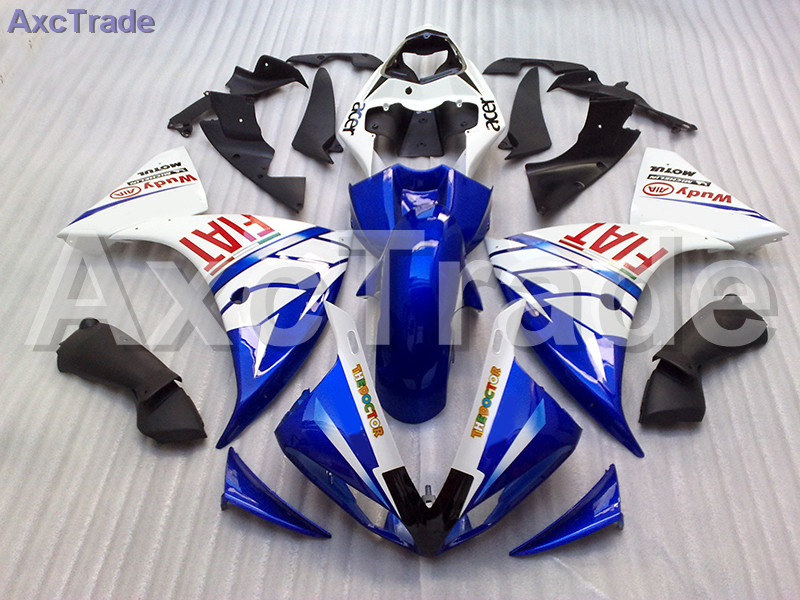 High Quality ABS Plastic For Yamaha YZF R1 1000 YZF-R1 YZF-R1000 2009 2010 2011 Moto Custom Made Motorcycle Fairing Kit Bodywork
