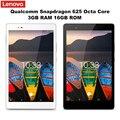 Original Lenovo P8 (TAB3 8 Plus) 8.0'' Wifi Tablet PC Android 6.0 Snapdragon 625 Octa Core 3GB+16GB Dual WiFi 8MP Cam Tablets PC