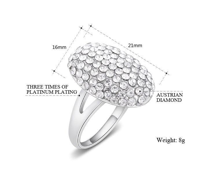 The Twilight Saga Breaking Dawn Ring Bella Wedding Crystal Jewelry