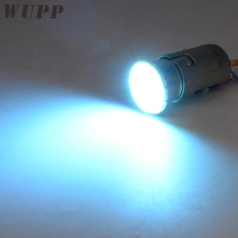 WUPP COB Turn Light 4PCS Ice Blue Signal Turn Flasher High Power Blinker Indicator Electronic Led 12V Headlights For Motorcycle