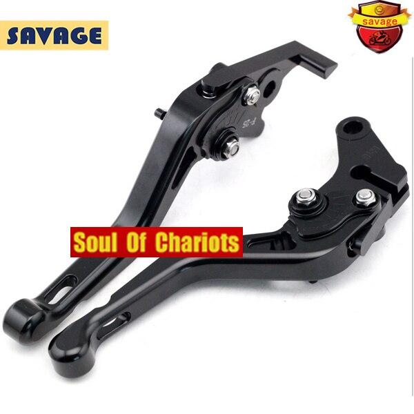 ФОТО For HONDA CBR125R CBR 125R 2004-2014 Motorcycle Accessories CNC Billet Aluminum Short Brake Clutch Levers Black/Orange