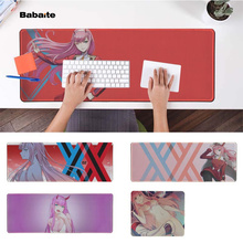 Babaite  Zero Two Darling Office Mice Gamer Soft Mouse Pad Speed/Control Version Large Gaming