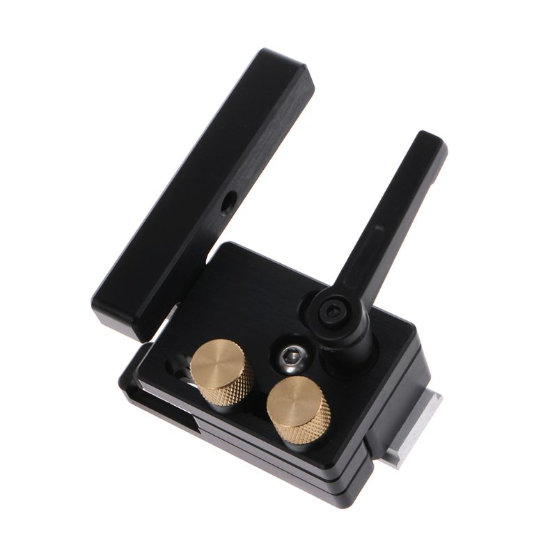 Miter Flip Track Stop DIY Woodworking Tools With Adjustable Scale For 45mm T-Track T-Slot