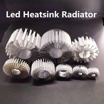 5 sztuk/partia Radiator LED podstawa aluminiowa Radiator dla 1 W-36 W wysokiej dioda LED dużej mocy chłodnicy słonecznik UFO okrągły PCB grzejnik LED lampa DIY